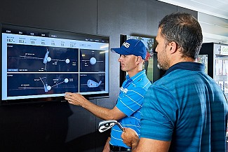 Explaining Golf Club data on the Simulator