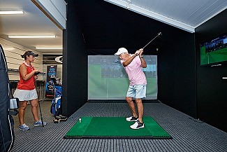 Club fitting in the Golf Simulator